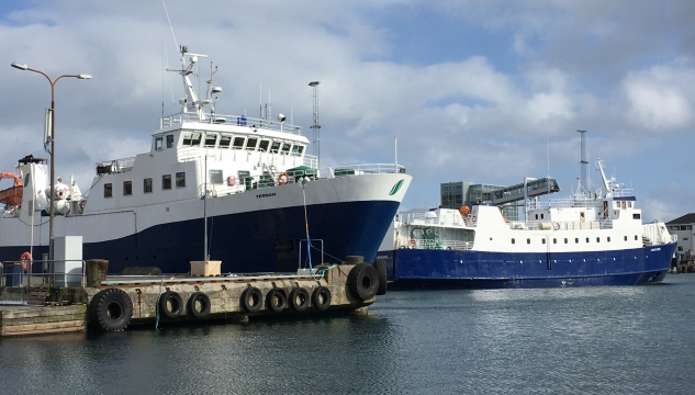 Strandfaraskip, Ternan og Hasfjord, SSL, Ternan, Hasfjord