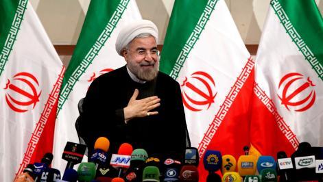 Hassan Rowhani, Iran, apríl 2016